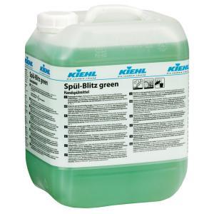 Kiehl Spül-Blitz green Geschirrreiniger, Fettlösender Geschirrreiniger auf Basis nachwachsender Rohstoffe, 10 l - Kanister