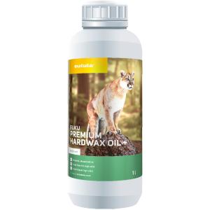 eukula® euku premium Hartwachs Öl+, Schichtbildendes Öl auf der Basis von Pflanzenölen, 1000 ml - Flasche