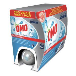 OMO Professional Flüssigwaschmittel, Flüssiges Waschmittel für alle Wäschearten, 7,5 kg - Box
