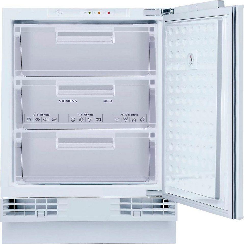 SIEMENS Einbaugefrierschrank iQ500 GU15DADF0, 82 cm hoch, 59,8 cm breit
