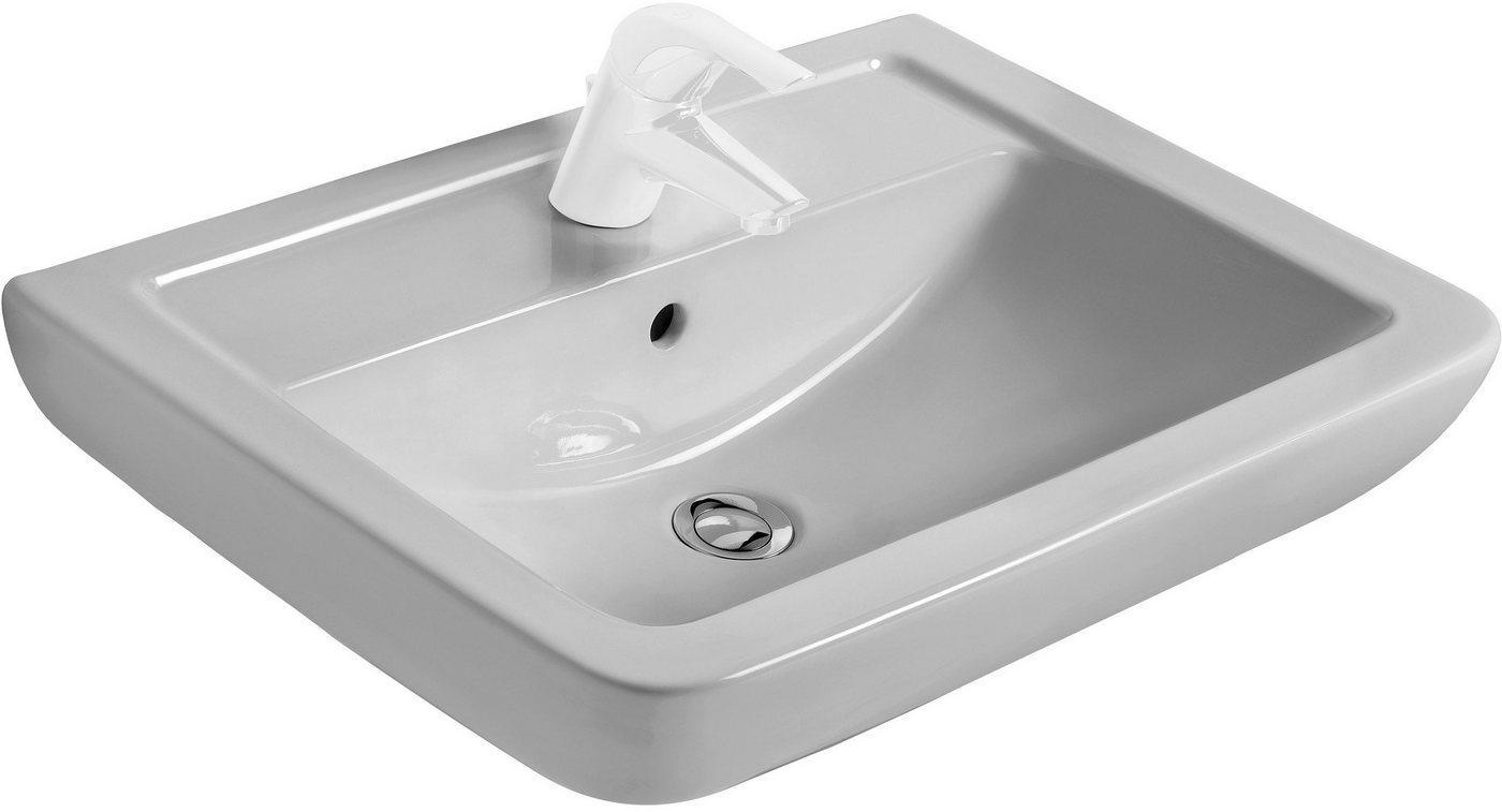 Ideal Standard Waschbecken »Eurovit Plus«, eckig, 65 cm