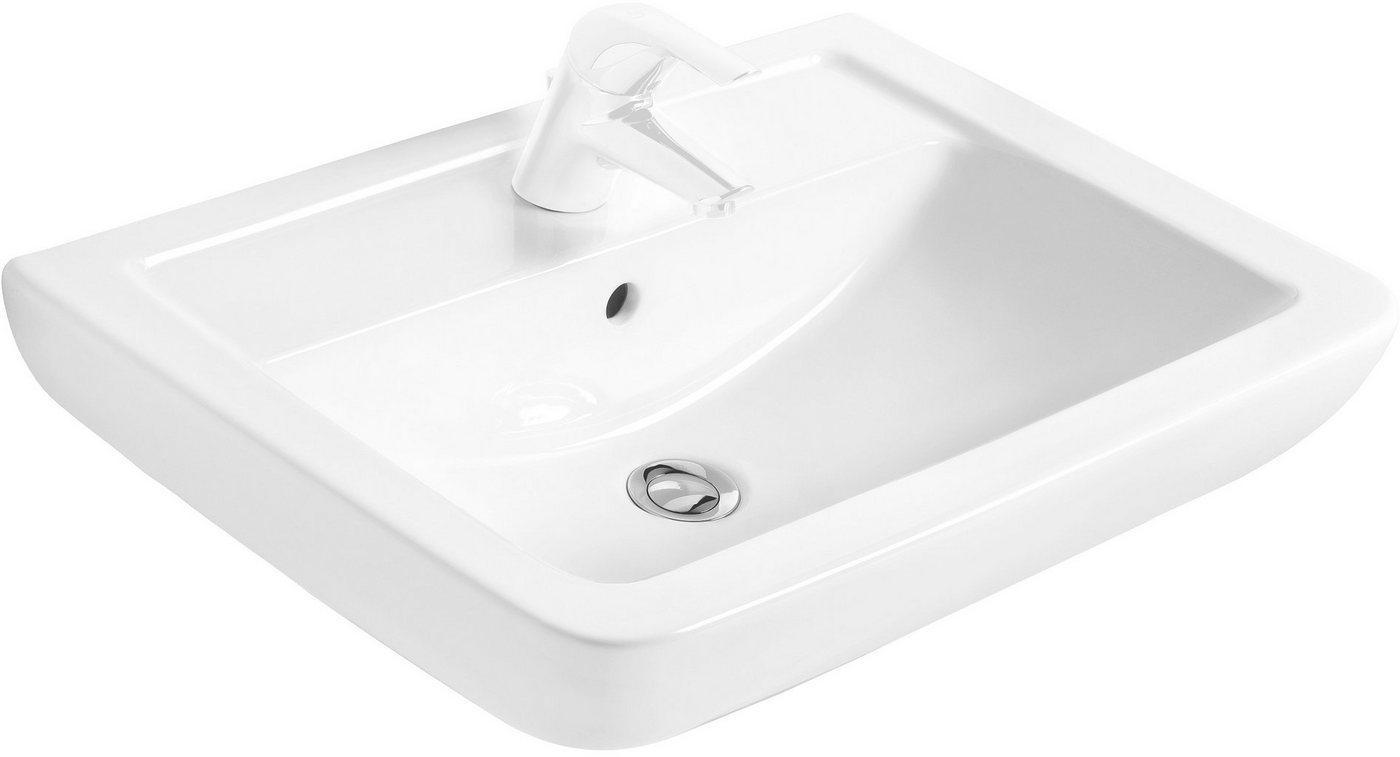 Ideal Standard Waschbecken »Eurovit Plus«, eckig, 60 cm