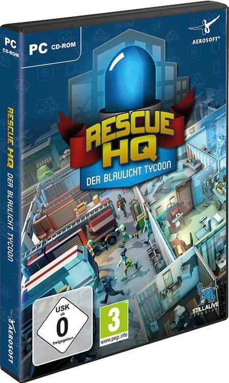 Der Blaulicht Tycoon-Rescue HQ PC