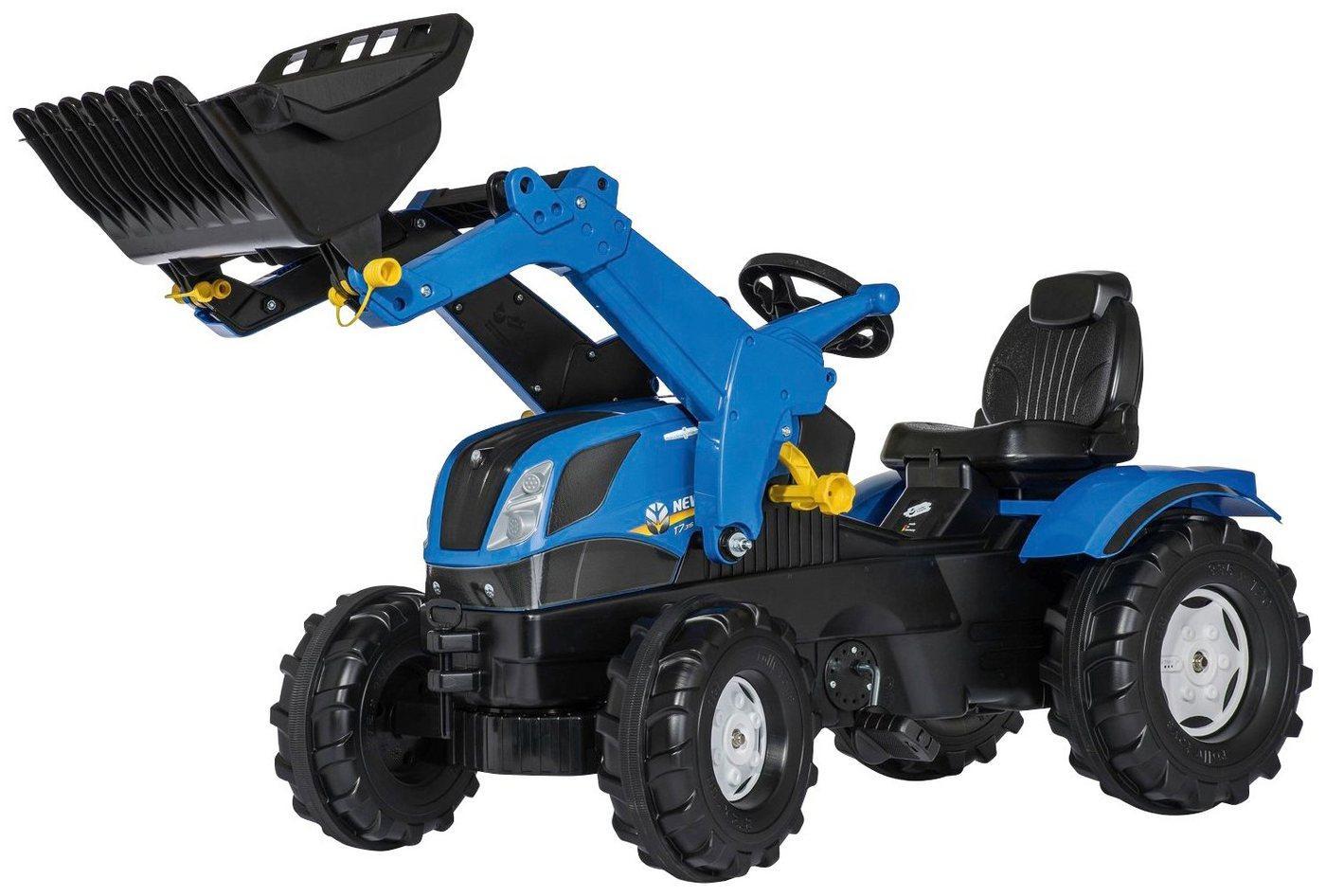 Rolly Toys Tretfahrzeug »New Holland«, Kindertraktor mit Lader