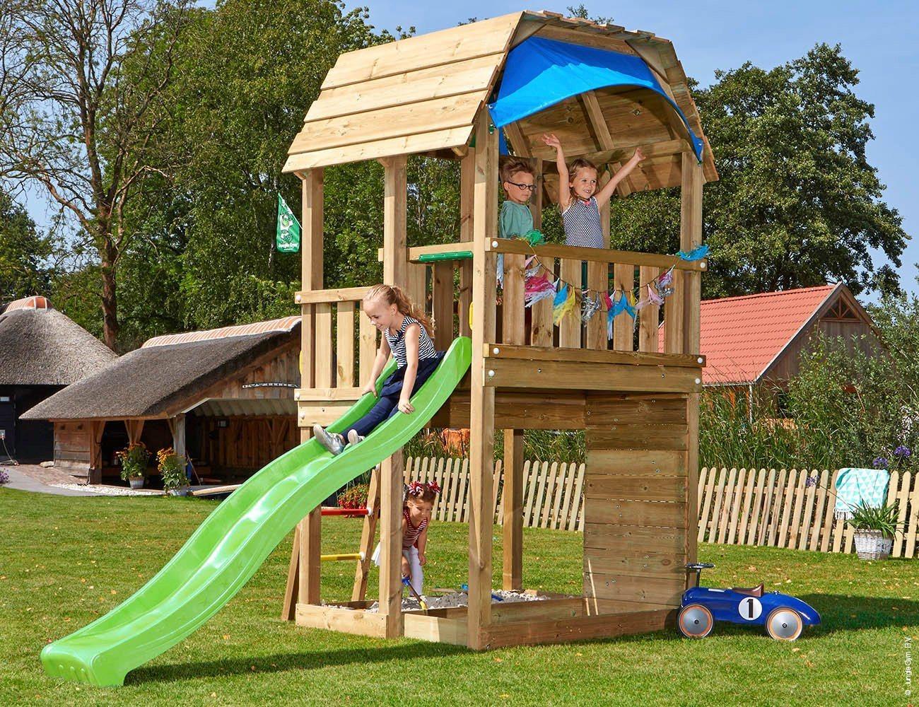Jungle Gym Spielturm »Jungle Barn«, BxTxH: 210x380x320 cm