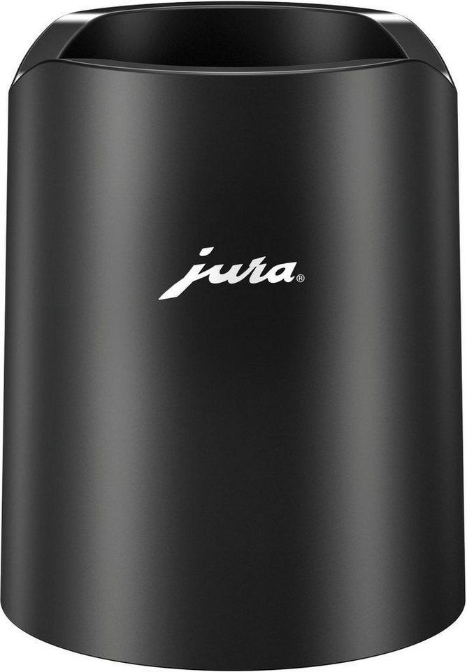 JURA Milchbehälter 24167 Glacette, Zusatz zum Glas-Milchbehälter, Zubehör für Als ideale Ergänzung zum Glas-Milchbehälter