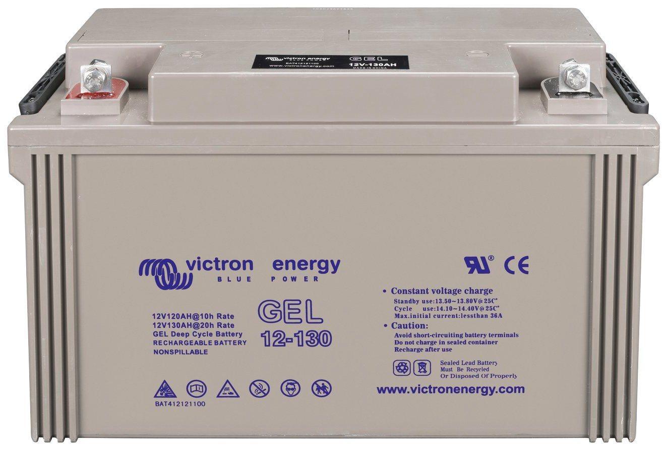 Sunset »Solar-Gel-Batterie 130 Ah« Solarakkus 130000 mAh (12 V), Zum Anschluss von Solarmodulen und Stromsets
