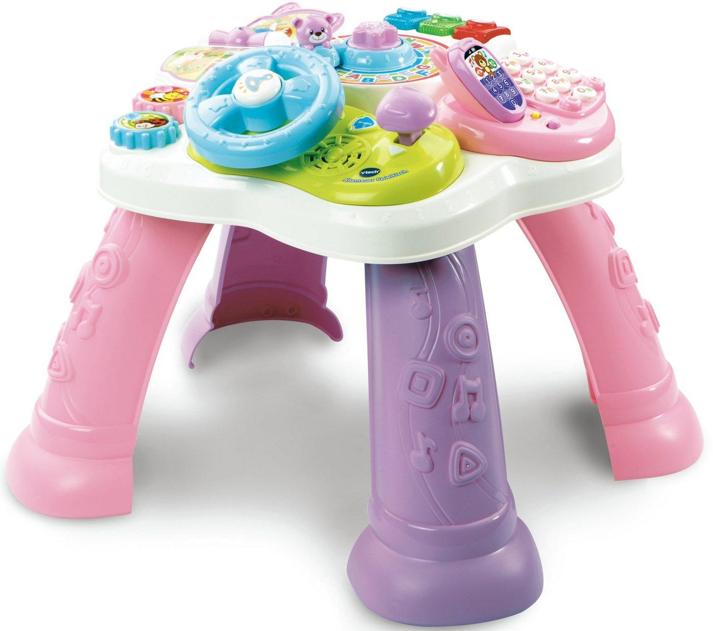 Vtech® Spieltisch »Abenteuer Spieltisch, pink«