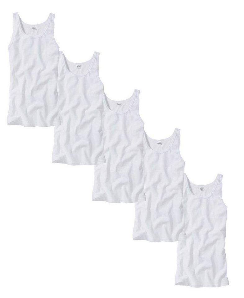 GÖTZBURG Unterhemd (5 Stück), 5er Pack Feinripp