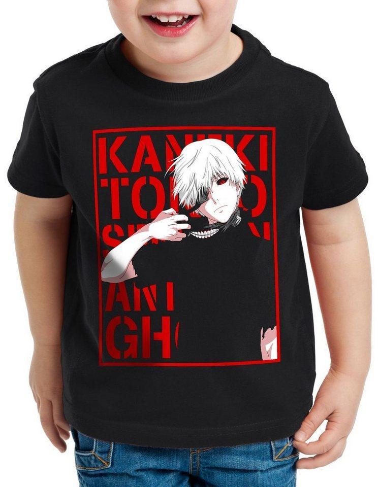 style3 Print-Shirt Kinder T-Shirt Tokyo Fate ghoul kaneki anime manga