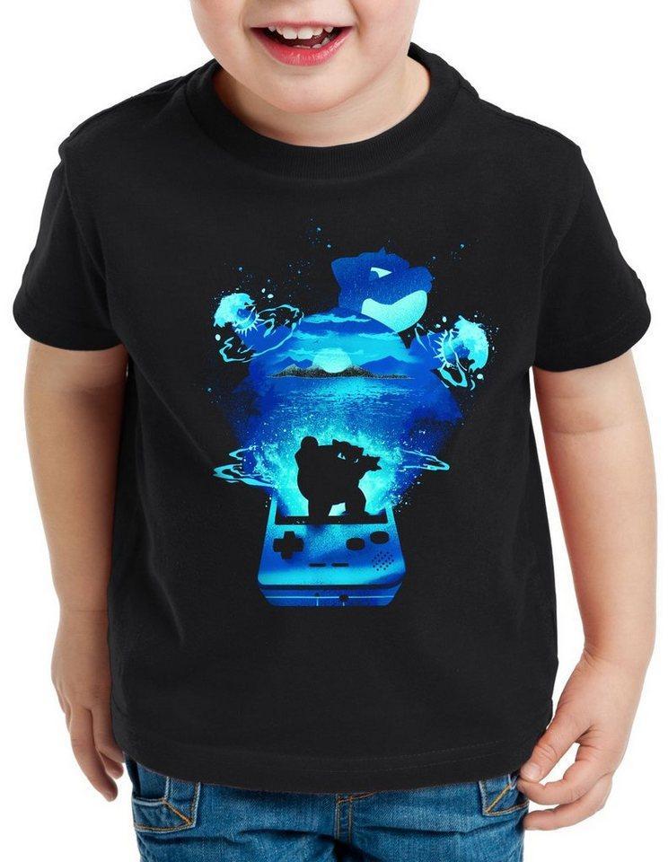 style3 Print-Shirt Kinder T-Shirt Glumanda Gamer monster spiel online boy
