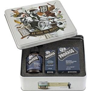 Proraso Herrenpflege Azur Lime Geschenkset Beard Wash 200 ml + Beard Balm 100 ml + Beard Oil 30 ml 1 Stk.