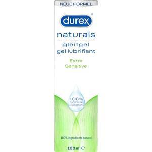 Durex Lust & Liebe Gleitgele Naturals Gleitgel Extra Sensitive 100 ml