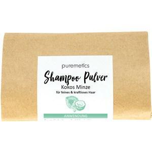 puremetics Pflege Shampoo Shampoo-Pulver Kokos Minze 50 g