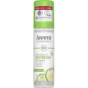 Lavera Körperpflege Body SPA Deodorants Natural & Refresh Deodorant Spray 75 ml