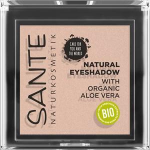 Sante Naturkosmetik Augen Lidschatten Eyeshadow Nr. 01 Pearly Opal 1,80 g