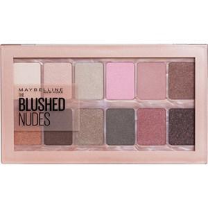 Maybelline New York Augen Make-up Lidschatten The blushed Nudes Lidschatten Palette 10 g