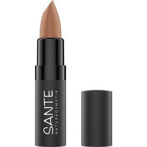 Sante Naturkosmetik Lippen Lippenstifte Matte Lipstick Nr. 01 Truly Nude 4,50 g