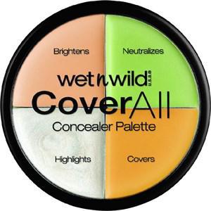 wet n wild Gesicht Bronzer & Highlighter Coverall Concealer Palette 6,50 g