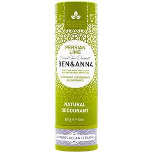 BEN&ANNA Pflege Deodorant PaperStick Natural Deodorant Stick Persian Lime 60 g