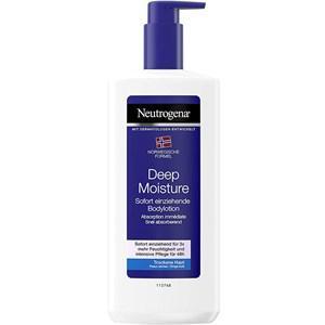 Neutrogena Pflege Körperpflege Deep Moisture Bodylotion 400 ml