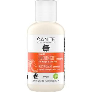 Sante Naturkosmetik Haarpflege Shampoo Feuchtigkeits Shampoo Bio-Mango & Aloe Vera 500 ml