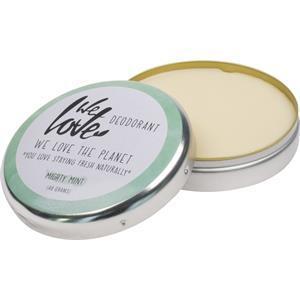 We Love The Planet Körperpflege Deodorants Mighty Mint Deodorant Creme 48 g