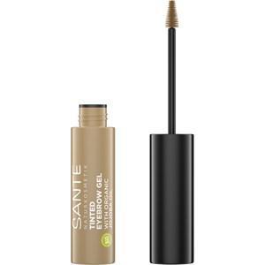 Sante Naturkosmetik Augen Augenbrauen Tinted Eyebrow Gel Nr. 01 Blondie 3,50 ml
