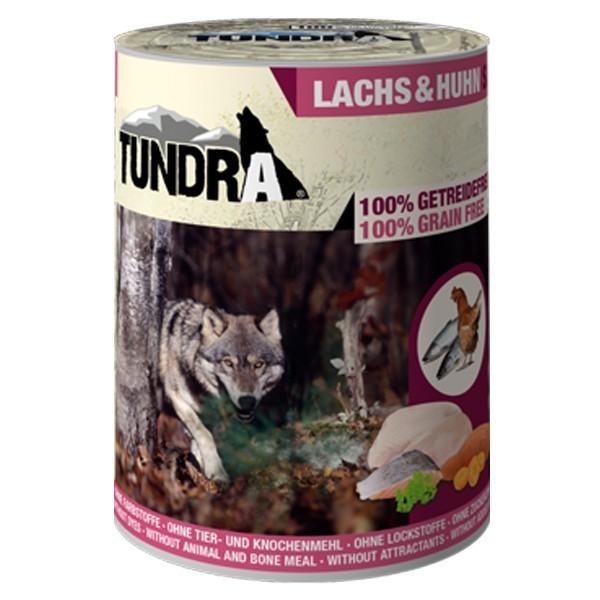 Tundra Hundefutter Lachs & Huhn Nassfutter - 400 g