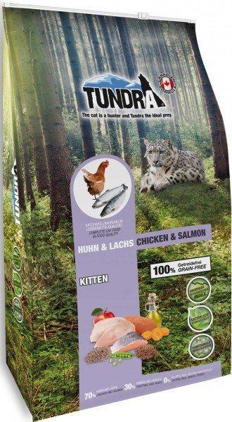 Tundra Cat Trockenfutter KITTEN Huhn & Lachs - Chicken & Salmon - 6,8 kg