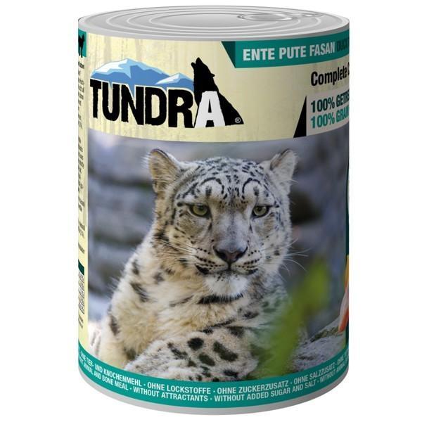Tundra Katzenfutter Ente, Pute, Fasan, Nassfutter - 200 g