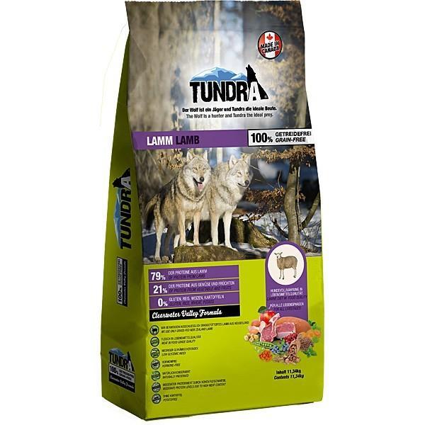 Tundra Hundefutter Lamm - getreidefrei - 11,34 kg