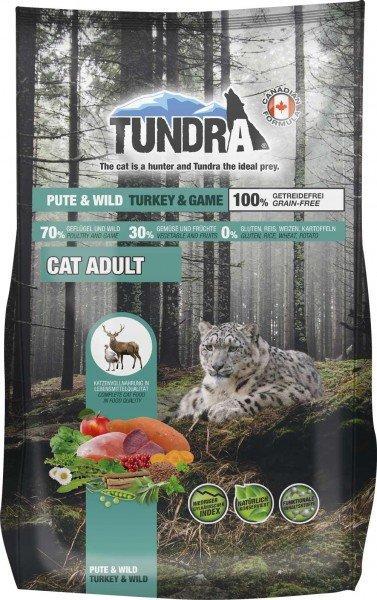 Tundra Cat Trockenfutter getreidefrei Pute & Wild - Turkey & Game - 1,45 kg