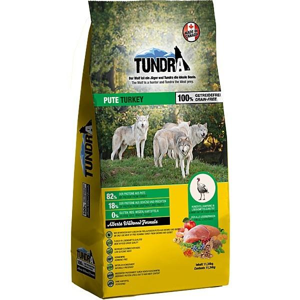 Tundra Hundefutter Pute - getreidefrei - 11,34 kg