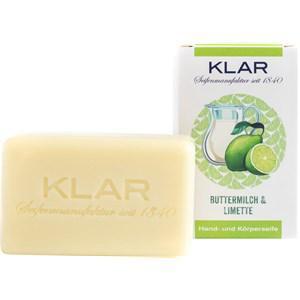 Klar Seifen Pflege Seifen Buttermilch + Limettenseife 100 g