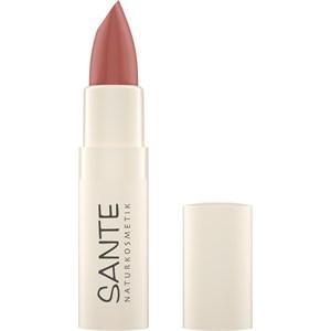 Sante Naturkosmetik Lippen Lippenstifte Moisture Lipstick Nr. 02 Sheer Primrose 4,50 ml