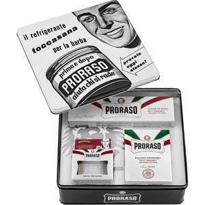Proraso Herrenpflege Sensitive Geschenkset White Sensitive Pre-Shave Creme 100 ml + White Sensitive Rasiercreme 150 ml + White Sensitive After Shave Balsam 100 ml 1 Stk.