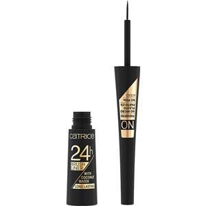 Catrice Augen Eyeliner & Kajal 24h Brush Liner Eyeliner Nr. 10 Ultra Black 3 ml