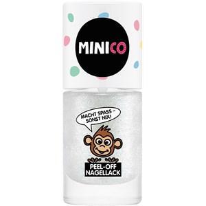MINICO Kinder Make-up Peel-Off Nagellack Nr. 01 Glitzer 4 ml