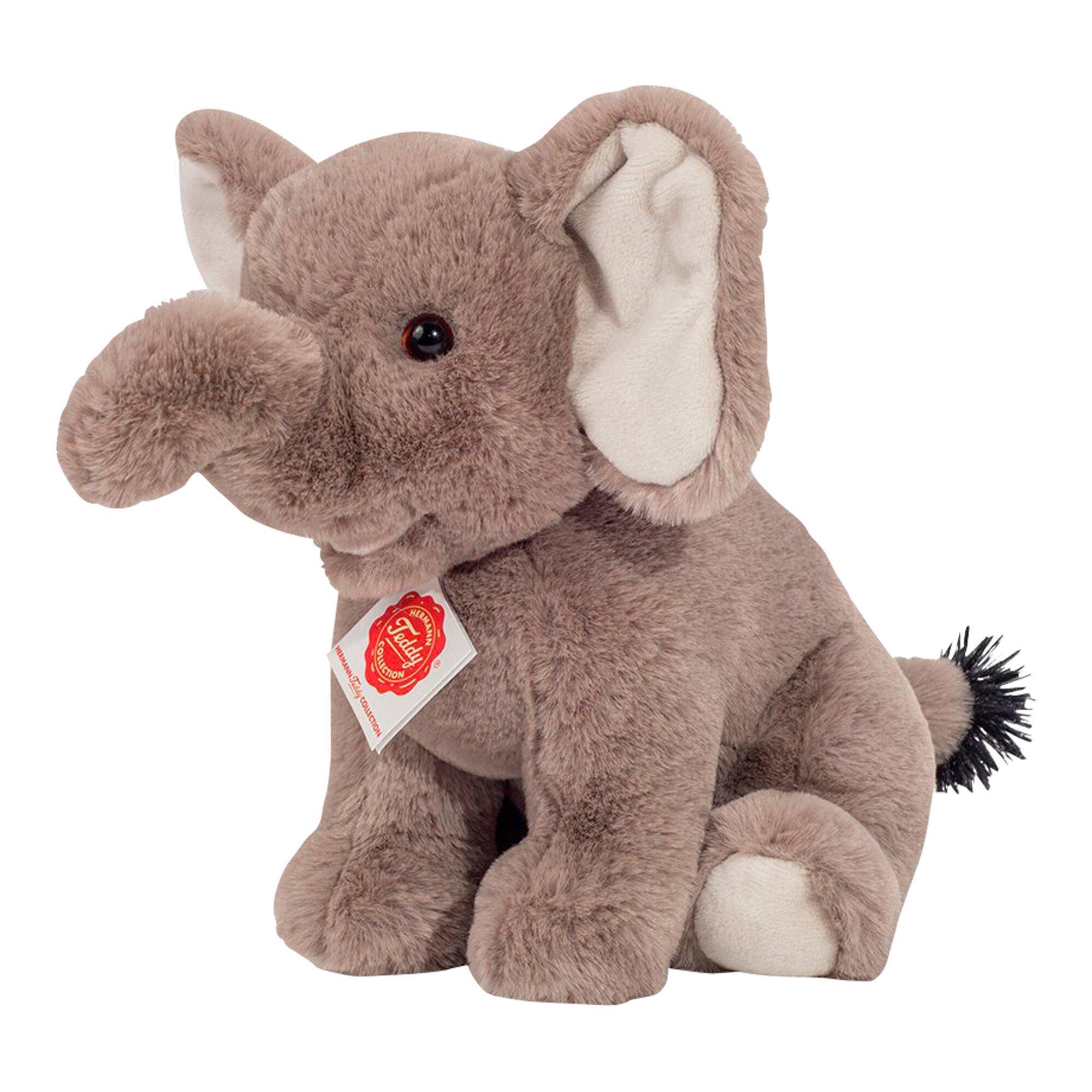Kuscheltier Elefant sitzend 25 cm