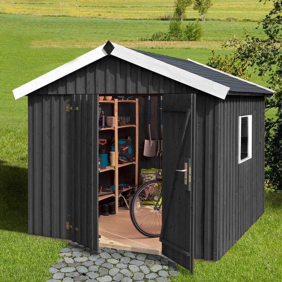 weka Gartenhaus »Schwedenhaus«, BxT: 277x208 cm