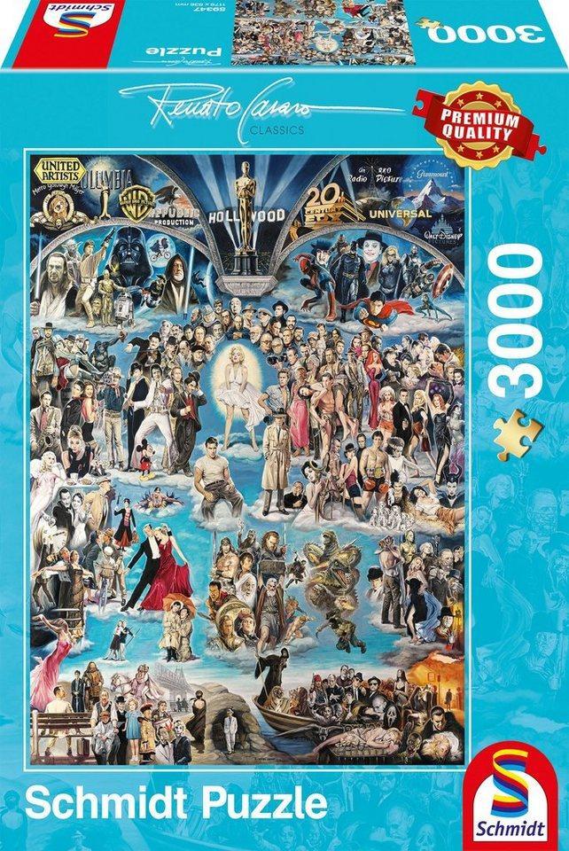 Schmidt Spiele Puzzle »Hollywood XXL«, 3000 Puzzleteile
