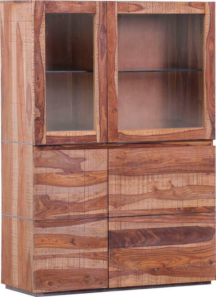 Gutmann Factory Highboard »Tivoli«, aus Massivholz Mango und Sheesham