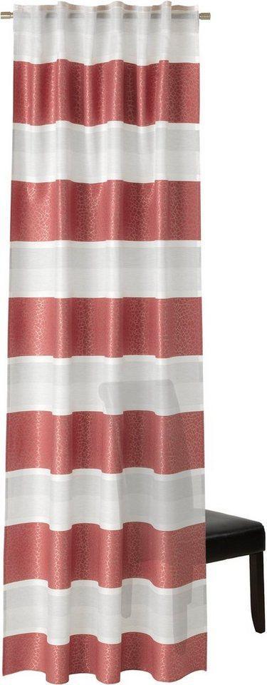 Vorhang »Ilma«, Neutex for you!, verdeckte Schlaufen (1 Stück), Schal mit verdeckten Schlaufen, weiß