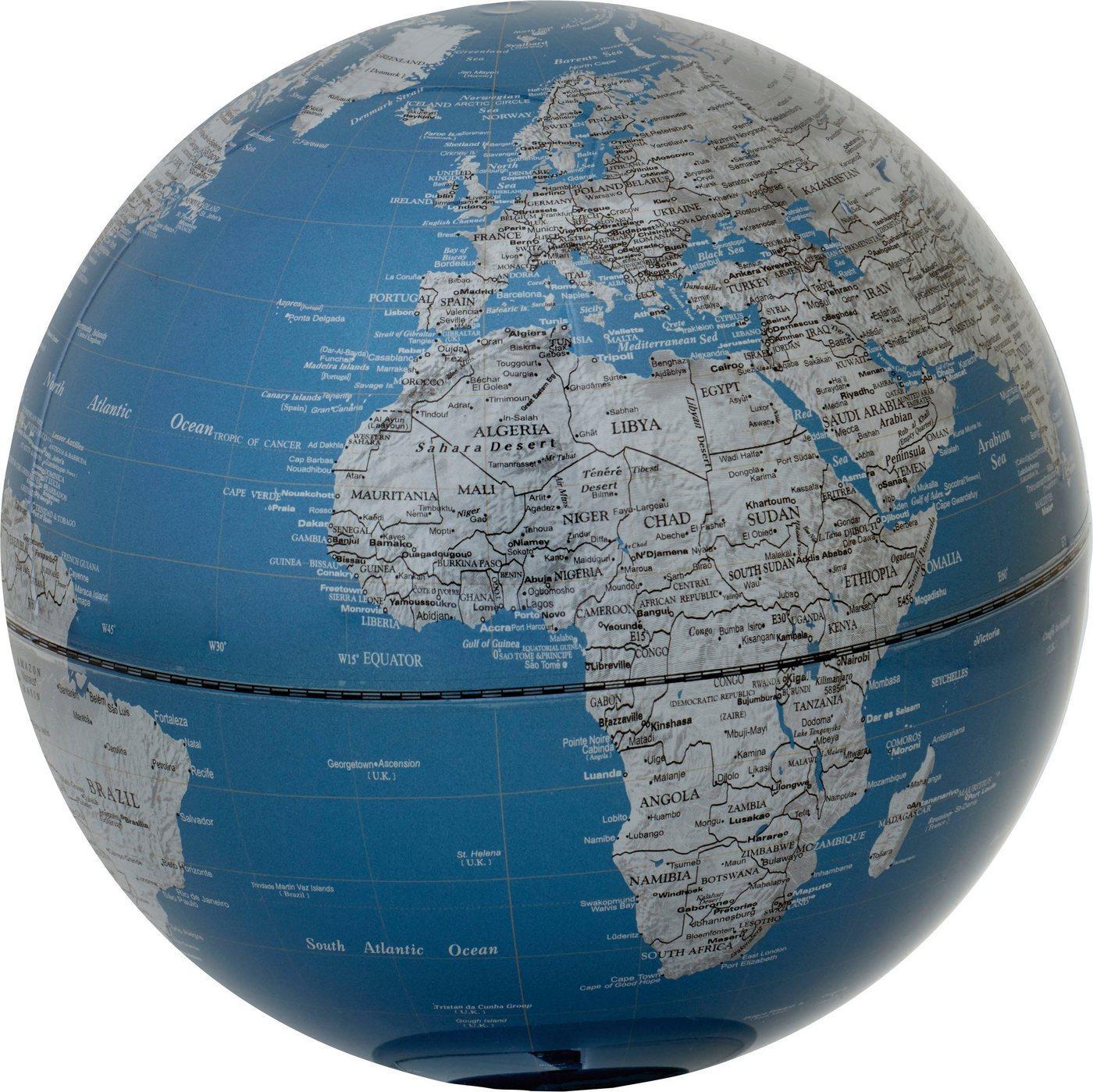 emform® Globus »Globus PLATON 300 OAK blue«, (2-tlg)