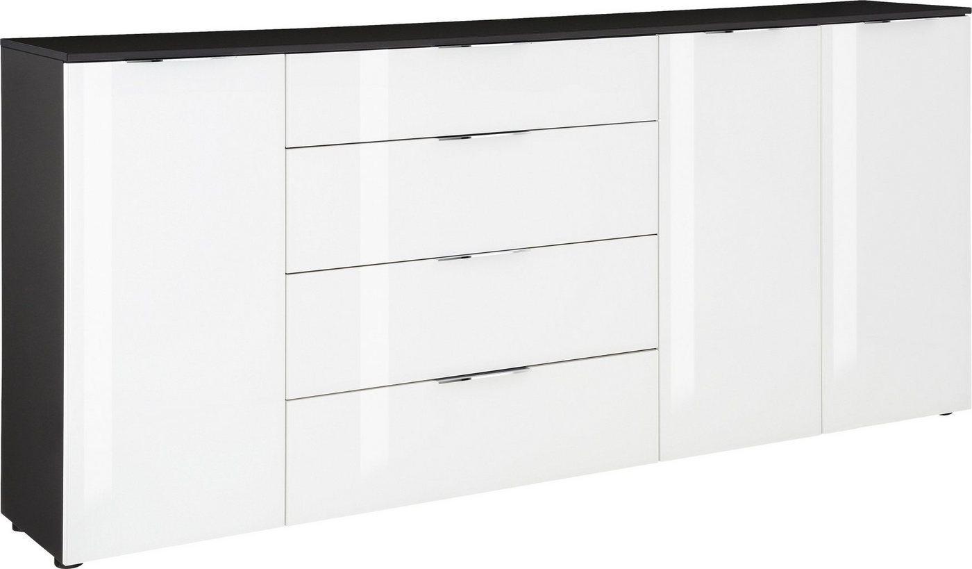 Maja Möbel Kommode »TREND«, mit Melaminharzbeschichtung, grau