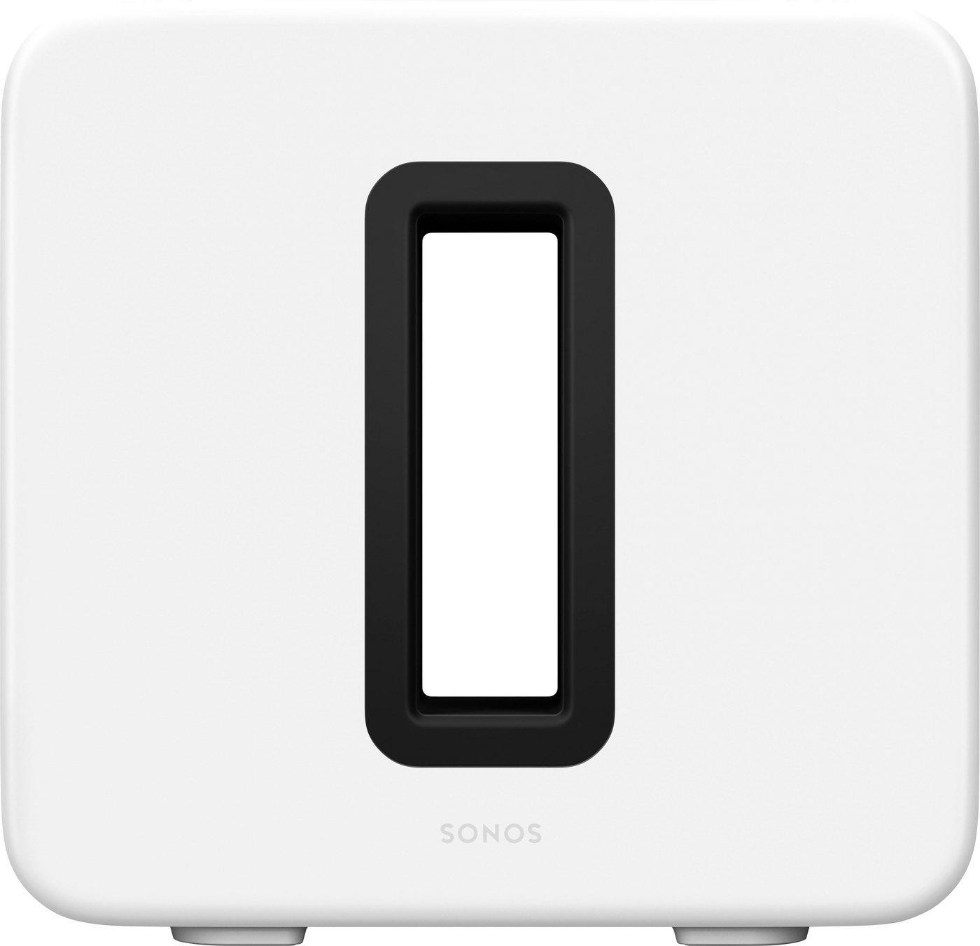 Sonos Sub (Gen3) WLAN- Subwoofer (LAN (Ethernet), WLAN), weiß