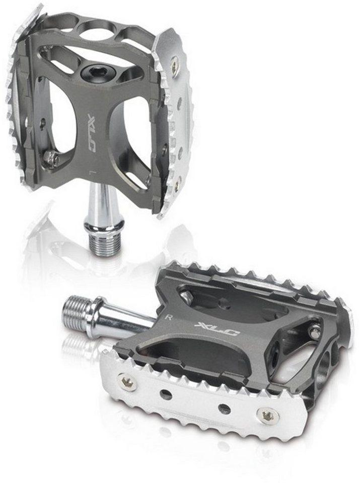XLC Fahrradpedale »XLC MTB/Trekking Pedal PD-M17«, schwarz