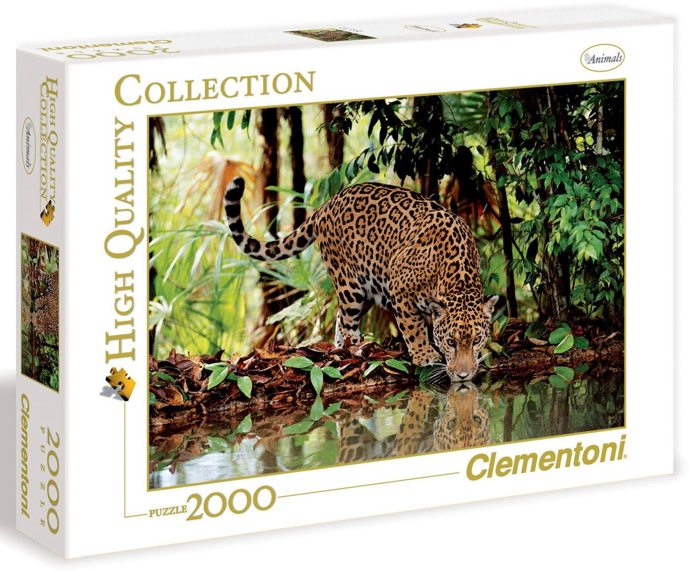 Clementoni® Puzzle »High Quality Collection - Leopard«, 2000 Puzzleteile, Made in Europe