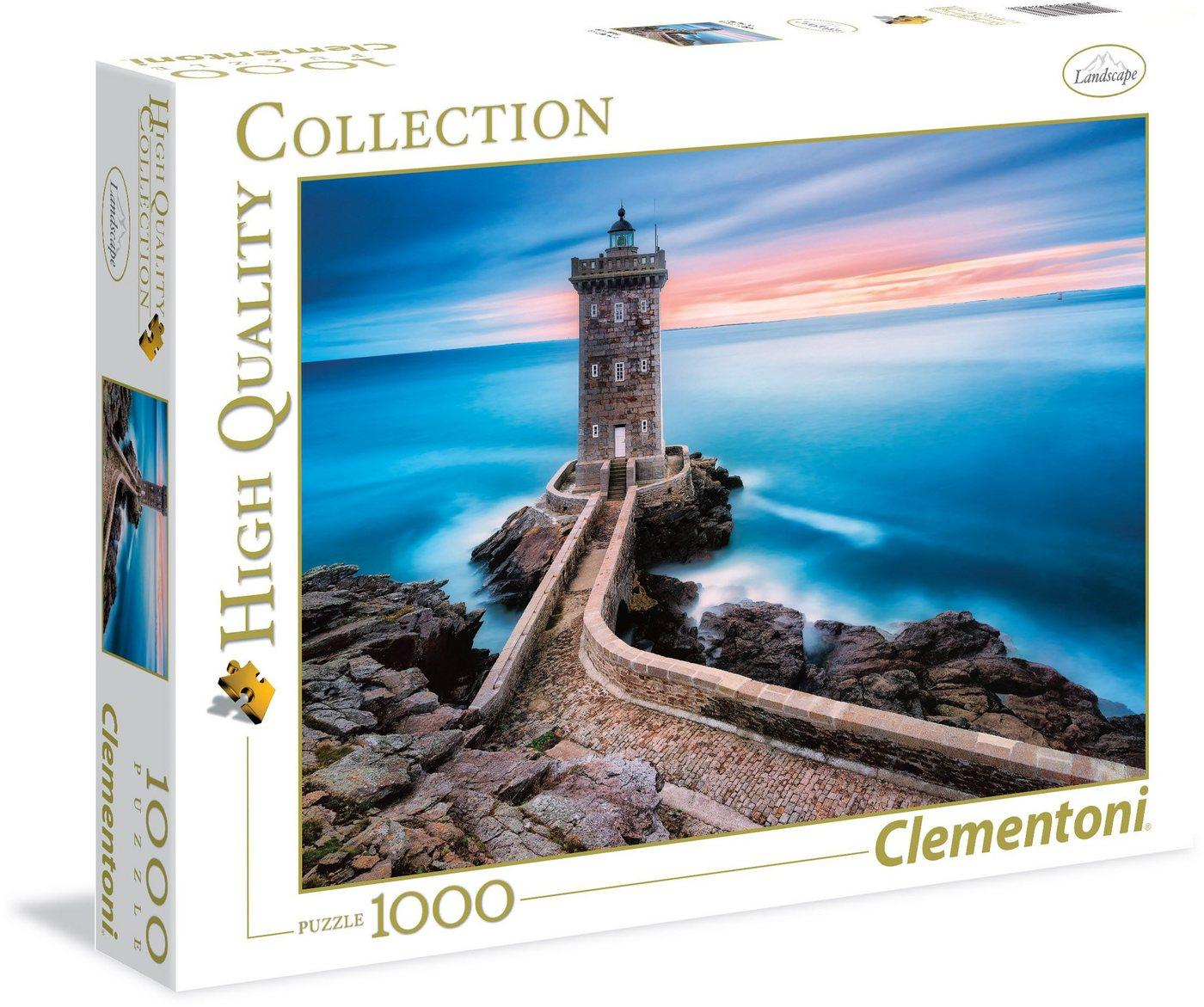 Clementoni® Puzzle »High Quality Collection - Der Leuchtturm«, 1000 Puzzleteile, Made in Europe